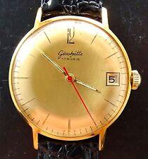 Vergoldete Glashütte Original Armbanduhren mit Datumsanzeige