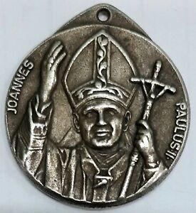 Pope JOANNES PAULUS II Medal ROMA ITALY circa 1990 John Paul