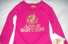 APPLE BOTTOM JEANS GIRLS LONG SLEEVED TOP SIZE 4 NWT