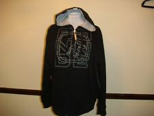 NWT Men's   And1 Black Hooded Zipper Jacket  Size Large
