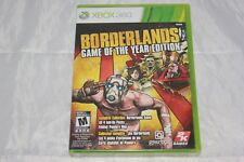 Borderlands - Game of the Year Edition (Microsoft Xbox 360, 2010) Brand New