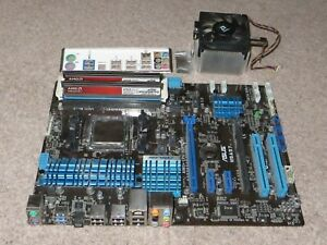 Asus M5A97 motherboard, AMD FX-4100 CPU, 8MB AMD DDR3 Memory