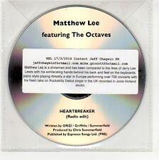 (GG248) Matthew Lee ft The Octaves, Heartbreaker - 2014 DJ CD