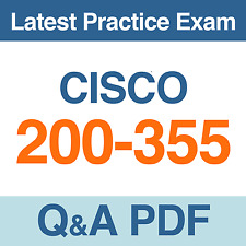 Implementing Cisco Wireless Network Fundamentals Test 200-355 Exam Q&A PDF