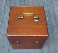 1800's Antique Medical Physicians French Battery Box by Thomas Hall