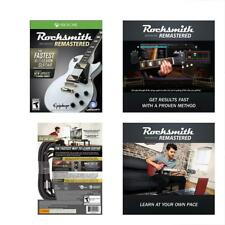 Rocksmith 2014 Edition Remastered For Xbox One W/ Real Tone Cable Included Game