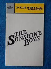 The Sunshine Boys - Broadhurst Theatre Playbill - January 1973 - Jack Albertson