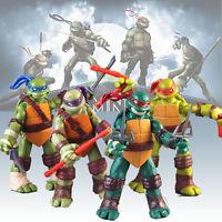 New  4pcs Lot Teenage Mutant Ninja Turtles Movie Action Figure TMNT Toys gift