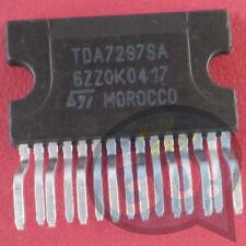 5PCS nuevo TDA7297SA Manu: St Encapsulado: ZIP-15, 10W+10W Puente Dual Amplificador