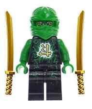 LEGO® Ninjago - Lloyd Airjitzu minifig with Dual Gold Swords