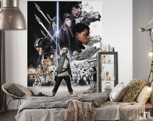 Photo wallpaper STAR WARS Balance kid's bedroom wall mural giant poster style