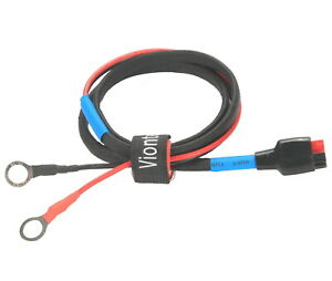 Viontek portable Power Station Chaining Eyelet Battery Charge Cable 12-24V 15A