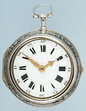 Early Silver Quarter Repeater by Fromanteel & Clarke