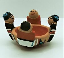 Tim Tosa Jemez Small Friendship Pot Storyteller Bowl Native American Indian