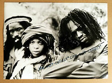 BLACK UHURU - PRESSEFOTO 18x24cm MUSIK PHOTO Press TV ´81 REGGAE Jamaica