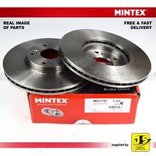 HONDA ACCORD VII CL, CN CM TOURER 2.0 2.2 2.4 MINTEX FRONT DISC BRAKES PAIR