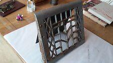 Vintage Cast Iron Floor Wall Heat Vent Grate Register Louver 1908 patent