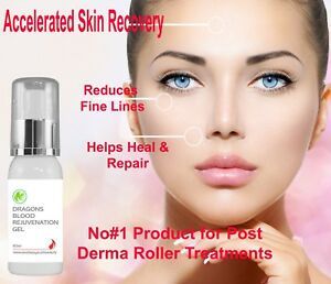 Dragons Blood Rejuvenation Gel Anti Ageing Post Derma Roller Treatment