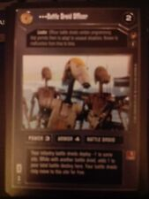 Star Wars CCG Theed Palace Captain Tarpals NrMint-MINT SWCCG
