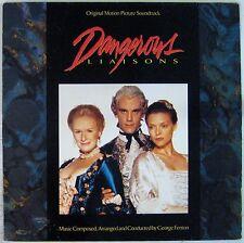 Les liaisons dangereuses 33 Tours John Malkovich Michelle Pfeiffer 1988