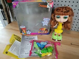 "Diva Starz 8"" ""Summer"" Talking Interactive Doll #27496 Mattel 2000 100% Complete"