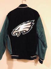 Philadelphia Eagles Jacket, Medium, Vintage Clothing, NFL, Official