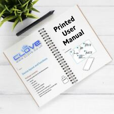 CAT S60 User Manual Printing Service - A4 Black and White