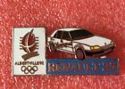 Pins Voiture RENAULT 25 J.O. ALBERTVILLE 92 Jeux Olympique Olympia Games