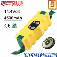 4.5Ah 14.4V Replace for iRobot Roomba Battery R3 500 600 700 800 900 Series NiMh
