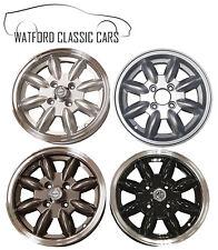 Minilight Alloy Wheels for MG Midget & AH Sprite , Morris Minor etc