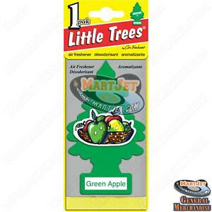 Little Trees: Green Apple Scent 1pc Car Mirror Hanging Air Freshener Home Office