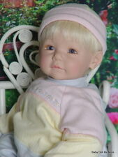 Retired Adora Name Your Own Baby * Sucky Lip Sculpt * blue eyes * blonde hair