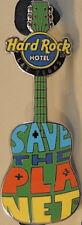"""Hard Rock Hotel LAS VEGAS 2010 """"SAVE THE PLANET"""" Guitar PIN"""