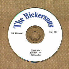 OLD TIME RADIO    THE BICKERSONS  51 EPS. ON CD  OTR