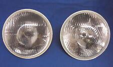 "2 x JAGUAR DAIMLER LHD Halogène H4 7 ""tête lampe XJ6 XJ12 Series 1 & 2 DS420 s8003"