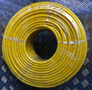 The BEST 8mm x 100mtr YELLOW Microbore Minibore WFP Water Fed Pole hose