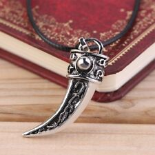 Unique Fashion Punk Stainless Steel Men Domineering Tooth Shape Pendant Necklace