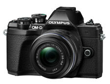 Olympus OM-D E-M10 Mark III 16,1MP Spiegellose Systemkamera - Schwarz (Kit mit 14-42mm Objektiv)