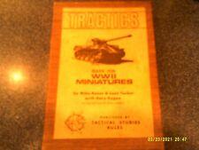 Tractics TSR First Edition Woodgrain box set Gygax Reese Tucker 1975
