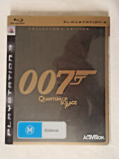 James Bond 007 QUANTUM OF SOLACE COLLECTORS EDITION PAL PS3 Playstation 3 Game