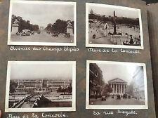 Rare joli album de 217 photographies du début de xx siècle Paris années 30