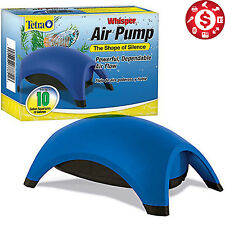 Whisper Tetra Air Pump Water Fish Tank Aquarium Efficient Bubble 10 Gal Filter