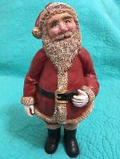 9� Resin Standing Santa Claus Figurine