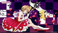Cardcaptor Sakura Kinomoto & Keroberos B Card Character Rubber Play Mat ENR-030
