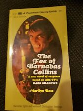 The Foe Of Barnabas Collins by Marilyn Ross Dark Shadows Paperback 1969 First