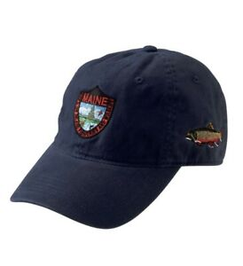 New LL Bean Maine Dept. Of Inland Fisheries And Wildlife Hat Brook Trout Men NWT
