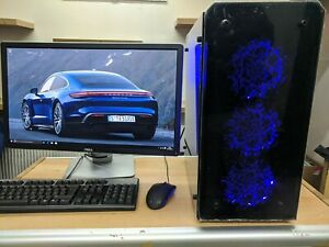 Custom Gaming PC Intel Core i5 gen 4 Win10 gt 1050 16GB RAM 120GB SSD 1TB HDD