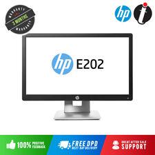 "HP EliteDisplay E202 20"" HD+ IPS Monitor 1600x900 BLACK HDMI VGA DP USB"