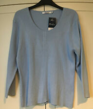 M&Co Light Blue Ribbed Jumper. Size XL. BNWTs. RRP £18.