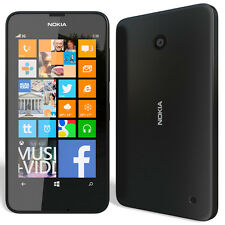 BRAND NEW NOKIA LUMIA 630 BLACK 8GB UNLOCK SMART PHONE 5MP DUAL SIM WINDOWS 8.1